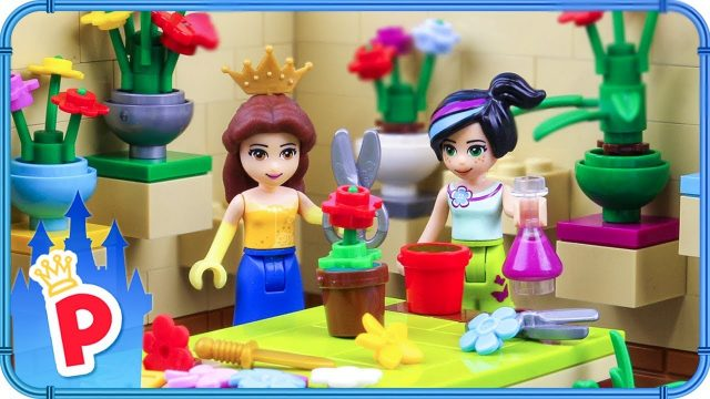 ♥ LEGO Belle Attends a GARDENING COURSE to Learn How to Make a Rose Garden