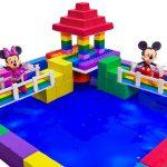 Learn Colors Shape It Sand Rainbow Garden House, Slime, Straws for Kids With Nursery Rhymes Songs