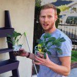 DIY Vertical Garden Planter For Herbs And Veggies