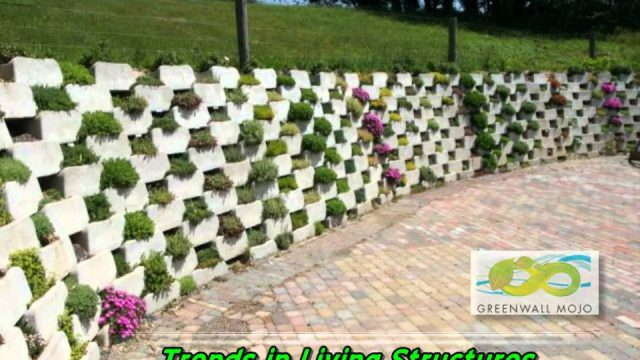 Living Retaining Wall – Plant Selection by Growth Habit