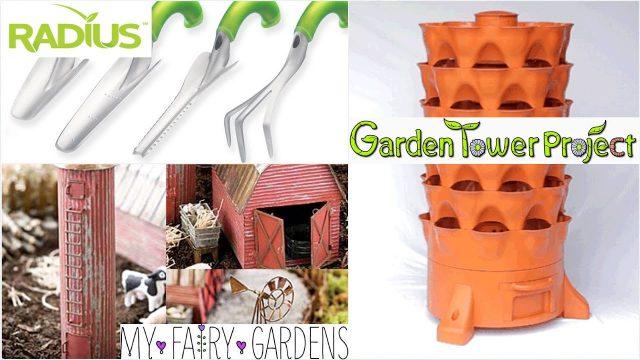 Mail Time | Radius Garden | Garden Tower 2 | Myfairygardens