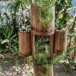 Creative Hanging Planter Ideas | DIY Moss Rose & Succulent Planter From Bamboo