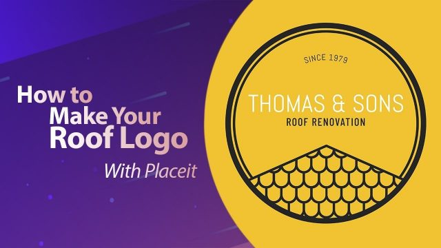 How to Make Your Roof Logo