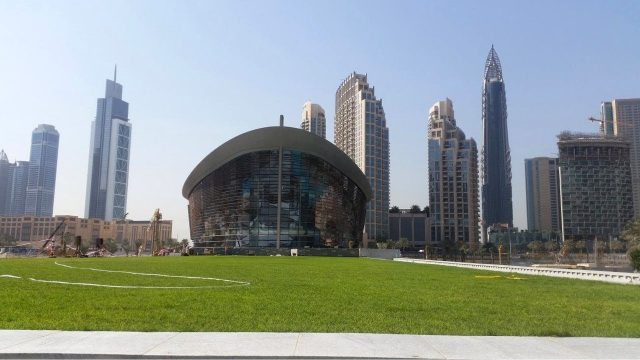 Dubai Opera Garden Green Roof & Greenwalls – Project of the Week 3/5/18