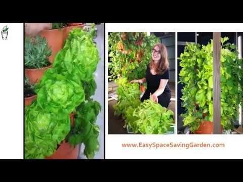 EASY SPACE SAVING GARDEN.COM Introduction to The Garden Tower