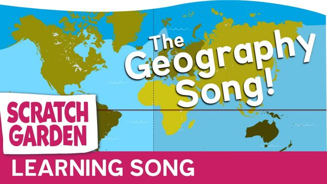 The Geography Song for Kids | Learn Geography Video by Scratch Garden