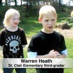 Hawkins kids start school garden