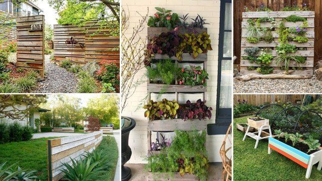 100 Amazing Creative Wood & Pallet Garden Ideas | DIY Garden