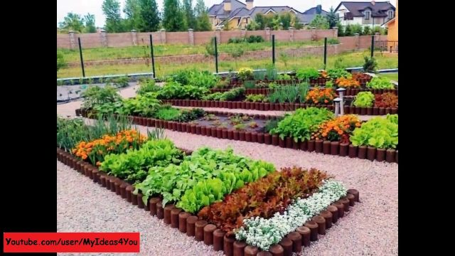 raised bed garden – backyard vegetable garden design ideas