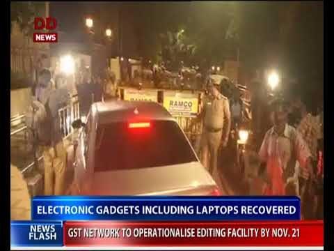 IT Dept raids Jayalalithaa's Poes Garden residence