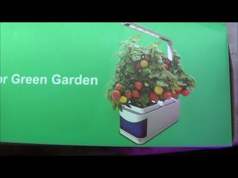 Indoor Green Garden Kit Unboxing