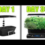 Grow Indoor Vegetable Garden Plants with AeroGarden Hydroponics and LED Grow Light How TO