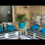 20 DIY pallet furniture ideas : DIY Pallet Patio Furniture For Garden