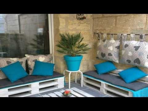 20 DIY pallet furniture ideas : DIY Pallet Patio Furniture For Garden