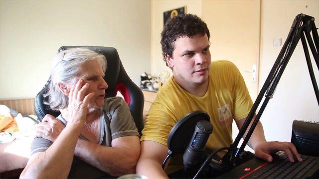 Učim babu da igra GTA V (u znak sećanja)