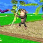 Monkey And Garden Hindi Kahaniya – Stories For Kids – Panchatantra Moral Story