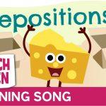 The Prepositions Song | Scratch Garden