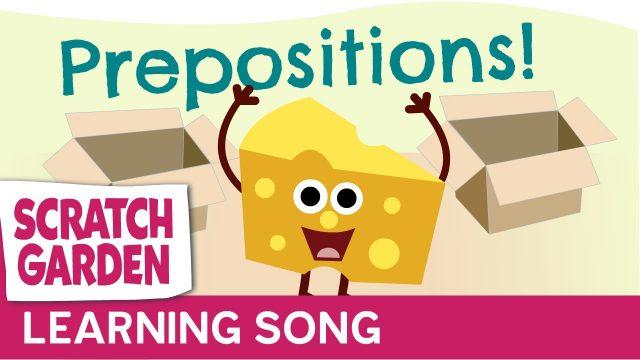 The Prepositions Song   Scratch Garden