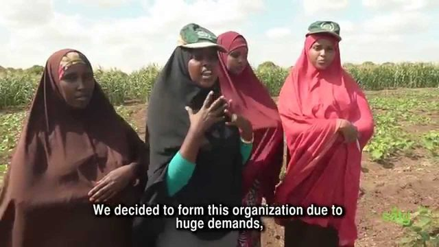 SAGA (Somali Agriculture Girls Association)