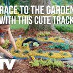 Kid-Friendly Garden Race Car Track – Way to Grow – HGTV