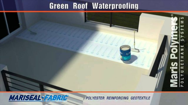 Green Roof Waterproofing Mariseal 250