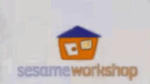 Sesame Workshop Logo (Blue Roof & Orange House Variant)