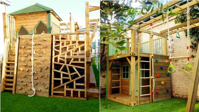 26 Best Backyard Playground Landscaping Ideas For kids