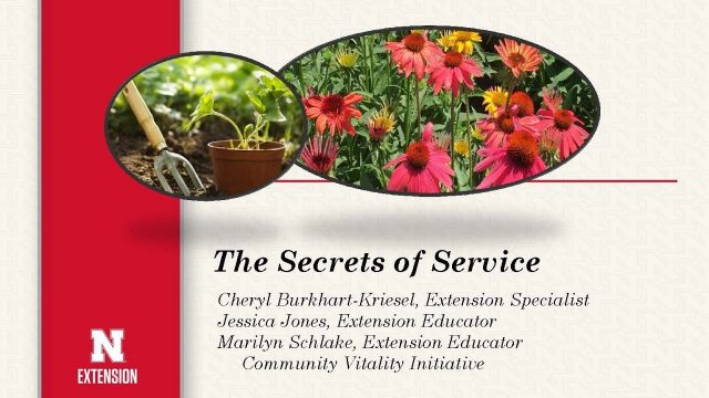 Master Gardener – The Secrets of Service