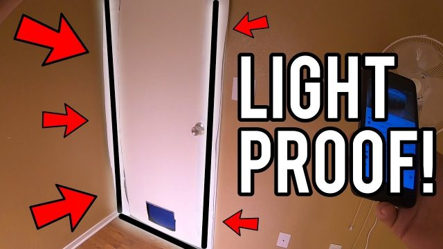 HOW TO LIGHTPROOF GROW ROOM DOOR! – INDOOR GARDENING