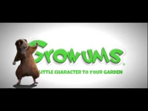 Growums.com Themed Garden kits for kids with hours of free cartoons that teach you how to grow them!
