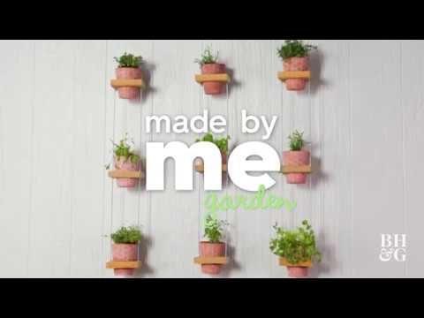 Vertical Herb Garden | Made By Me – Garden | Better Homes & Gardens