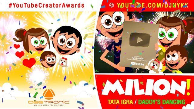 MILION – TATA IGRA – Maksimove avanture SPECIJALNA EPIZODA | MILLION – DADDY's DANCING!