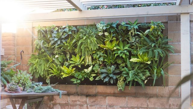 Vertical Plant Pocket Wall Garden