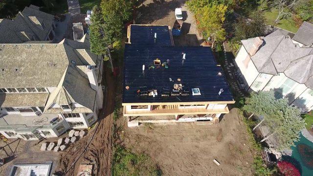 Luxury Modern Home Build – Flat Roof Installation – Bakor Modified Bitumen – Stuart Riley