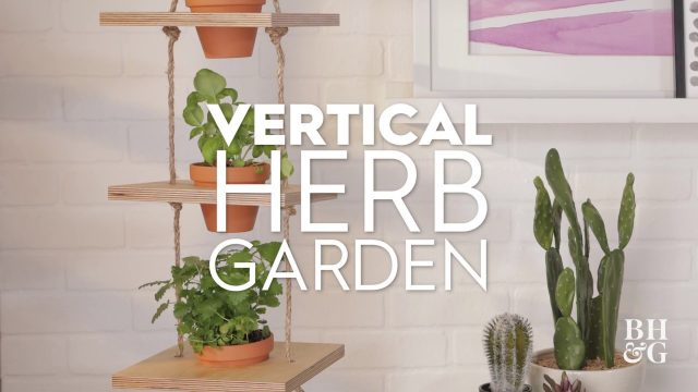 Vertical Herb Garden | Basics | Better Homes & Gardens