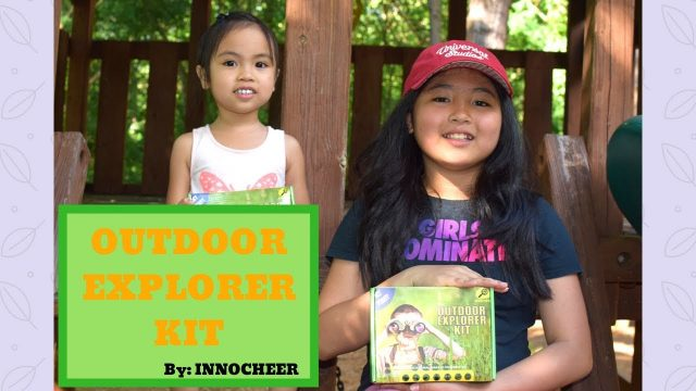 Outdoor Explorer Kit By INNOCHEER | Best Explorer Kit For Kids | Perfect for Summer