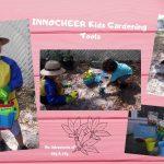 INNOCHEER Kids Gardening Tools Unbox &  Review