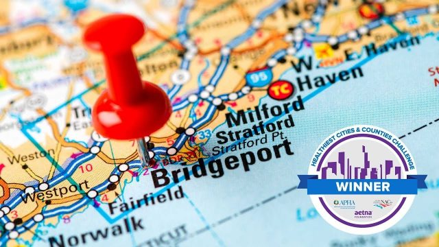 Healthiest Cities & Counties Challenge Winner: Bridgeport, CT