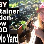 Container Gardening Grow Vegetable Garden on Patio & Compost in Place Everything