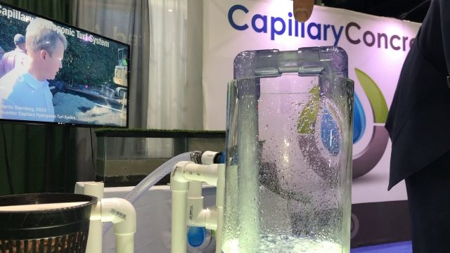 Capillary Hydroponic Turf System explained
