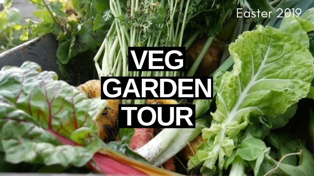Homestead VEGETABLE Garden Tour (Easter 2019)