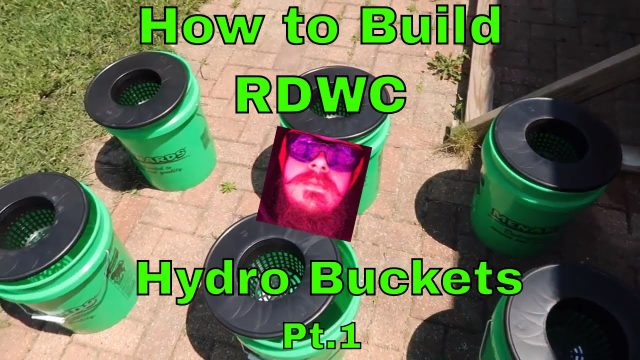 How to build  recirculating deep water culture hydroponic bucket system  5 gallon hydroponic buckets
