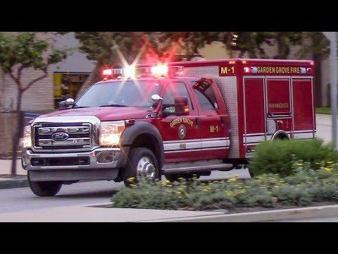 Garden Grove Fire Dept. Medic 1 & Engine 1