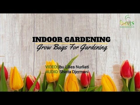INDOOR GARDENING (Grow Bags For Gardening)
