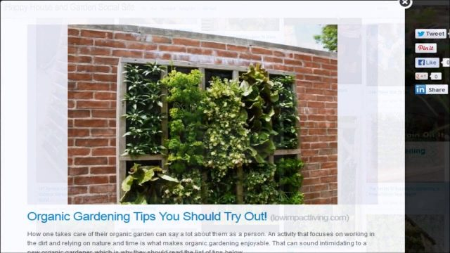 Recycle Urban Vertical Gardening for Small Spaces