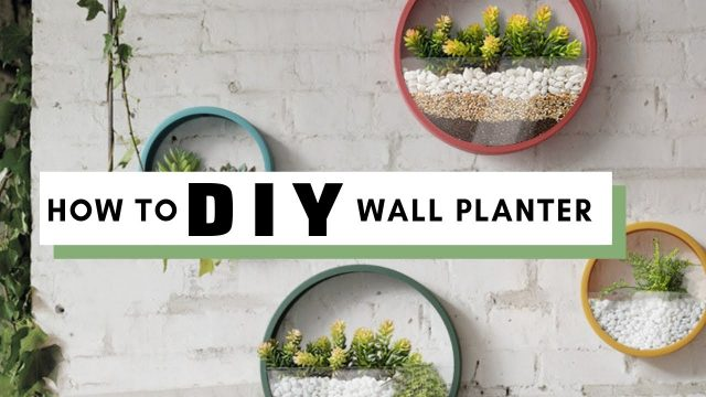 Modern Wall Planter