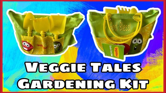 Spring Outdoor Activities for Kids | Veggie Tales Gardening Kit
