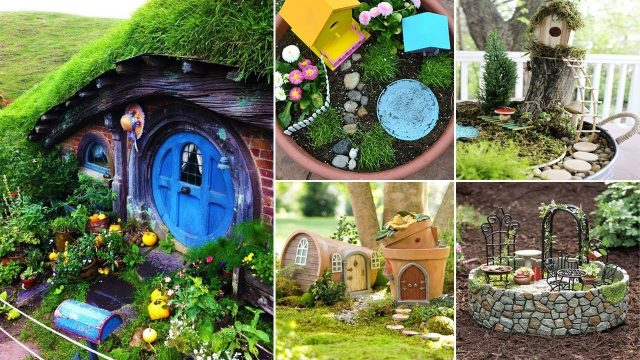 100 DIY Miniature Fairy Garden Ideas | DIY Garden