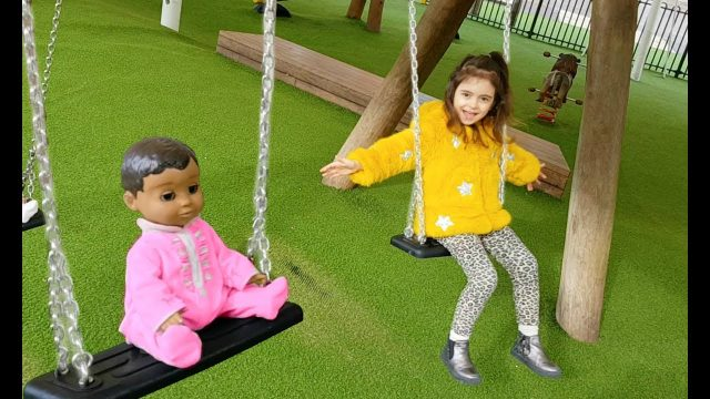 Fun Playground for Kids – Slide and Swing