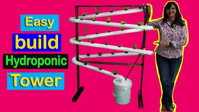 Build your own Hydroponic/Hydroponics Tower System